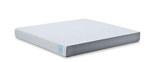 Micro-Tech by TEMPUR Memory Foam Matratze 90 x 200cm - Höhe 20cm, Viscoschaum, Härtegrad: hart, waschbarer Bezug