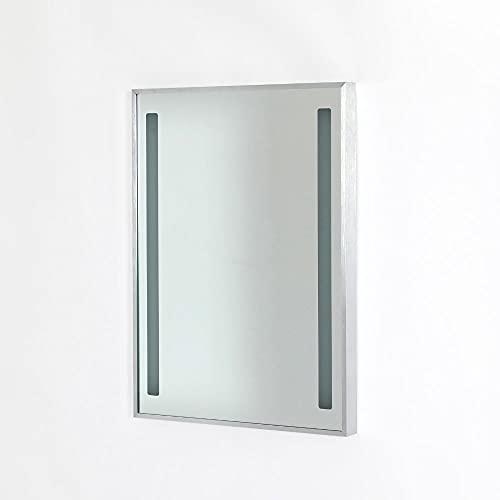 Espejo Milano Tagus 700 x 500mm 18W LED Baño con Sensor de Movimiento y Dispositivo Anti-condensación - IP44 Resistente al Agua