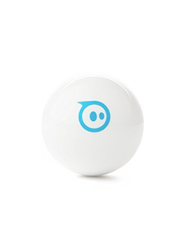 Sphero Mini White: App-Controlled Robotic Ball, STEM Learning and Coding Toy, Ages 8 and Up