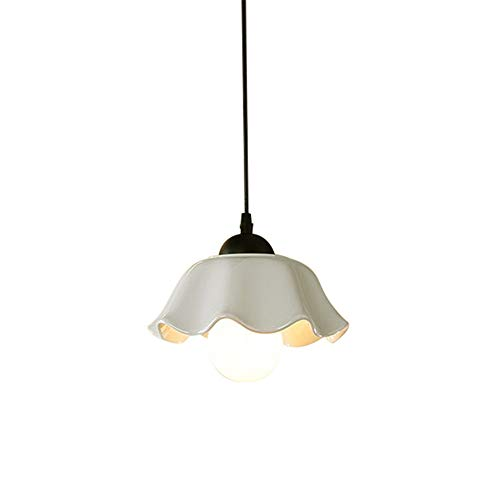 Moderno Europeo Lampadario Ceramica Semplice Ristorante Luce del Pendente Soggiorno E27 Paralume (Senza Lampadina)