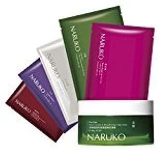 Naruko Amazing Mask Set - explore with 5 pcs Naruko Mask + Tea Tree Shine Control & Blemish Clear Night Gelly
