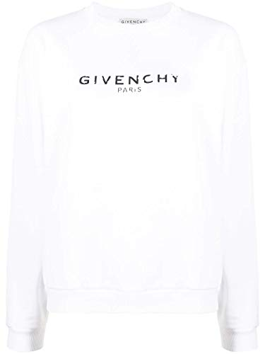 Givenchy Luxury Fashion Damen BW70013Z0Y100 Weiss Baumwolle Sweatshirt | Herbst Winter 20