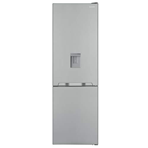 Sharp SJ-BA10IMDI2-EU Kühl-Gefrier-Kombination / A++ / Höhe 186 cm / Kühlteil 230 L / Gefrierteil 94 L / NoFrost / LED-Piktogramme / GentleAirFlow / Wasserspender / Null-Grad-Zone