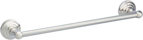 AmazonBasics - Toallero de barra de diseño tradicional - Níquel satinado - 45,7 cm