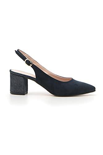 scarpe pittarello PITTARELLO 20809 Décolleté Donna Blu in Sintetico