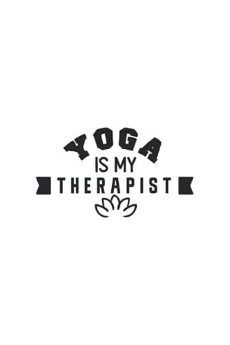 Mi diario de yoga: diario de yoga para registros, formación, ejercicios de yoga, gratitud, regalo para novia, colega: 120 páginas en formato de libro ... Bonita tapa blanda en diseño de yoga