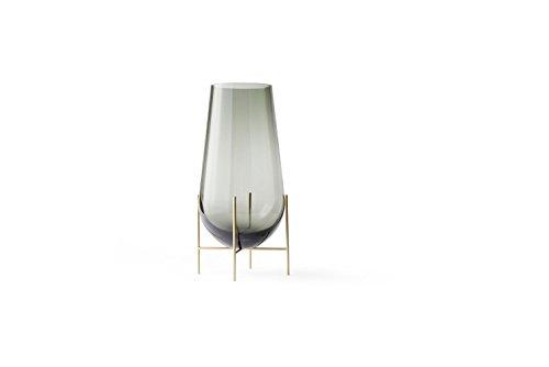 Menu - Echasse Vase - rauchglas - S - Theresa Arns