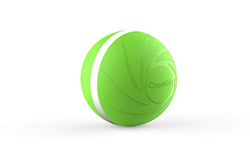 The Original Wicked Ball by Cheerble! 100% Automatic with Built in Obstacle Avoidance System! Smart Interactive Pet Toy! Designed for Dogs & Cats! Comes With 3 Reaction modes! Made from Safe Material