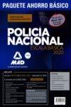 Paquete Ahorro BÁSICO Escala Básica Policía Nacional 2020. Ahorra 100 € (Temario...