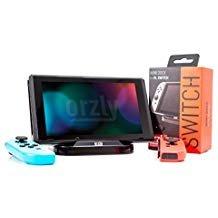 Mini Base de Carga de Orzly compatible con la Nintendo Switch - Negro - Mini Dock para Nintendo Switch Tablet (incluye Cable de alimentación USB a TypeC)