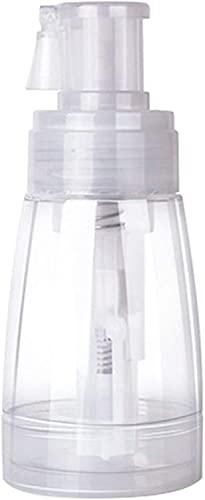 Nealan Pequeña botella pulverizadora portátil con una boquilla sellada de 180 ml, para champú seco, polvo claro, desodorante (1)