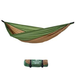AMAZONAS Ultra-Light Hängematte Adventure Hammock Coyote - Die leichteste Kingsize...