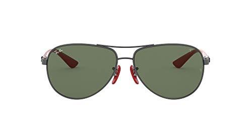 Ray-Ban 0RB8313M Gafas de Sol, Gunmetal, 40 para Hombre