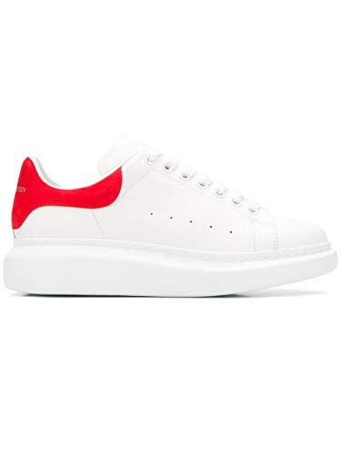 Luxury Fashion | Alexander Mcqueen Heren 553680WHGP79676 Oranje Leer Sneakers | Seizoen Permanent