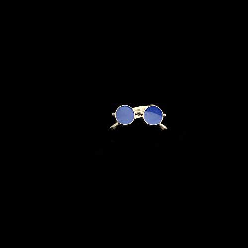 Avanzate Chic Spille Lupo occhiali da sole Pin vestito degli uomini scialle perni del risvolto Uxedo Cappello Corpetto della camicia colletto perno partito giornaliera di accessori ( Metal color : 9 )
