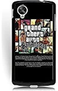 Phone Case for Google Nexus 5 Apple Cartoon Game for Girls, Google Nexus 5 Grand Theft Auto New Stylish Series Hard Back Cover for Google Nexus 5 Durable Phone Skin Shell Fresh