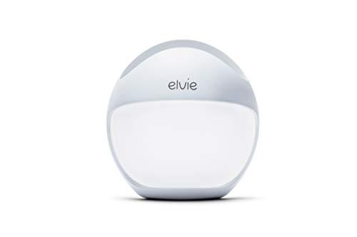 Elvie Curve Manuelle Tragbare Brustpumpe - Freihändig Tragbare Silikonpumpe, die im BH Getragen Werden Kann