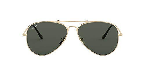 Ray-Ban Rb8125m TITANIO-0RB8125M9143, Gold, 58 Unisex Adulto