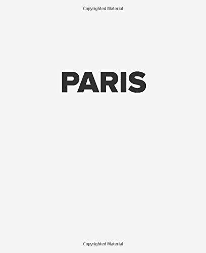 Paris: White Black Decorative Book to Stack on Bookshelf Coffee Tables, PARIS, World Fashion Cities, Interior Design, Book Decor, Housewarming Gift