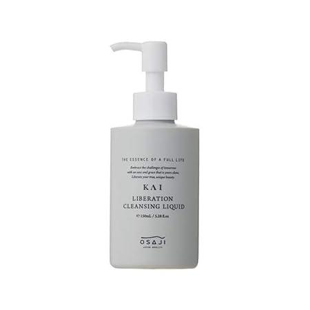 オサジ(OSAJI) KAI リベレーションクレンジングリキッド「肌に優しい/クレンジングリキッド 高保湿 肌と親和性の高い洗浄成分 ダマスクローズとジャスミンの香り」 150ml