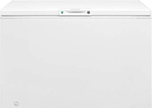 Frigidaire FFFC13M4TW Freezer with 12.8 cu. ft. Capacity, White Door, Manual Defrost, Power-On Indicator Light in White