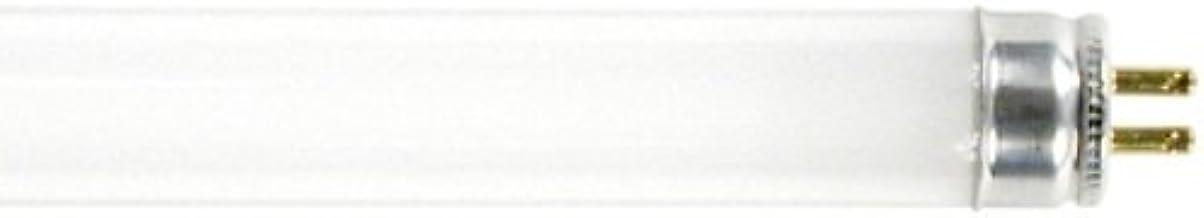 GE Lighting Garage Lighting and Basement 15987 8-Watt, 400-Lumen T5 Light Bulb with Miniature Bi-Pin (G5) Base, 10-Pack