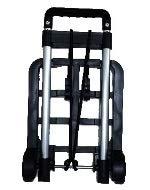 折り畳みミニキャリー(ブラック) PT001 ハンドキャリー 台車 キャリーカート ショッピングカート レジャー アウトドア