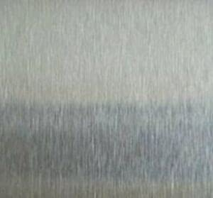 1 PIECE of Alloy 304 #3 Brushed Stainless Steel Sheet - 22g x 12' x 12'