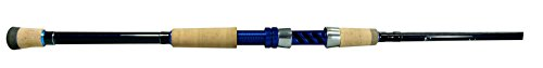 Okuma Fishing Tackle Nomad Inshore Graphite Travel Rod- NTI-S-703ML-M, Blue/Black, 7-Feet