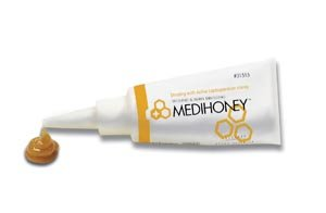 Integra Lifescience Medihoney Paste Dressing, 1.5 fl oz Tube, Applicator 31515