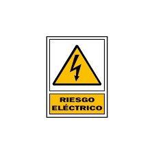 Adhesivo Riesgo Eléctrico 10x15