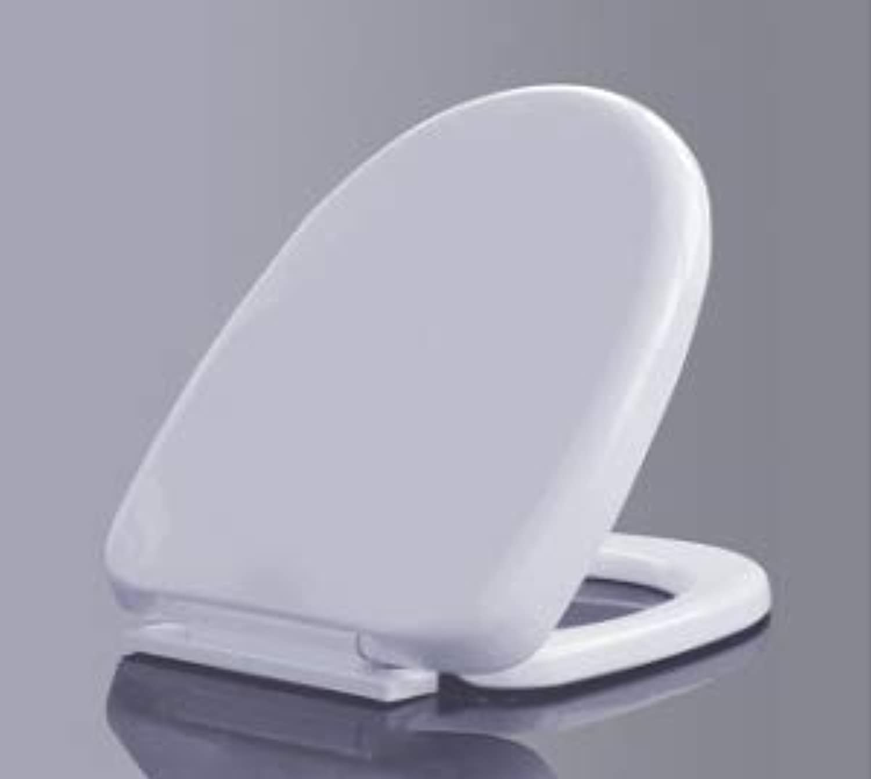 LA BOUTTIE Toilet Seat Soft Close Quick Release Loo D-Shaped White