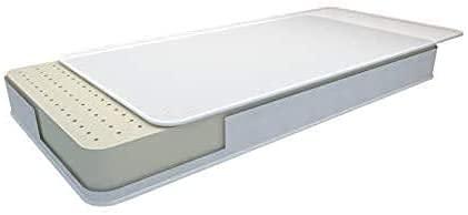 La Cigüeña Colchon de cuna Air Foam antiahogo 117x57 ⭐