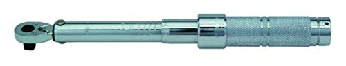 Proto J6062C 1 4  Drive Ratcheting Head Micrometer Torque Wrench,40-200  Pound