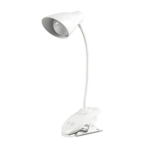 Bureaulamp leeslamp, boekenlamp, USB-oplaadbaar, flexibel zwanenhals-nachtlampje, perfect voor het lezen in bed