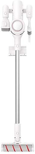 FGDSA Aspiradora de Varilla, aspiradora de Varilla inalámbrica hasta 60 Minutos, Potente succión de 20 Kpa con batería Recargable, diseño 2 en 1, para Pisos, alfombras