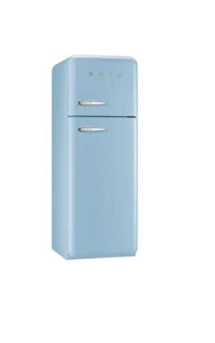Smeg FAB30RAZ1 Libera installazione 293L A++ Blu frigorifero con congelatore