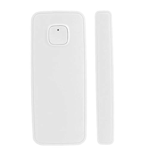 Berrywho Controlled by Phone Iphone Tablet for Home Burglar Security Alarm System (white) Smart Window Door Magnet Sensor Detector Compatible with