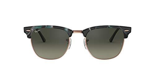 Ray-Ban Rb3016f Clubmaster Asiático Fit Gafas de sol cuadradas