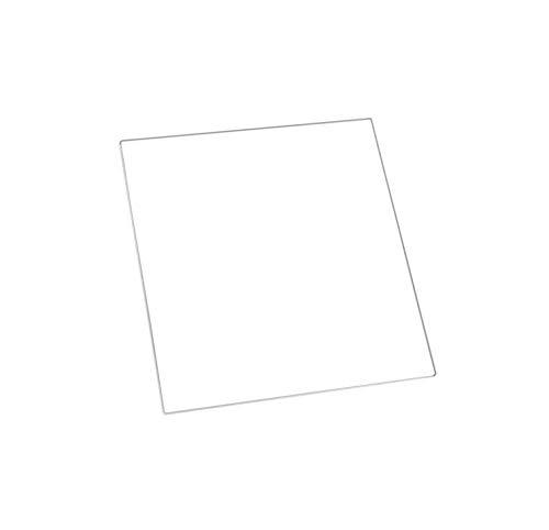 MK2 Heizbett-Platte aus Borosilikatglas, 213 x 200 x 3 mm, gehärtetes Glas, nur für 3D-Drucker geeignet