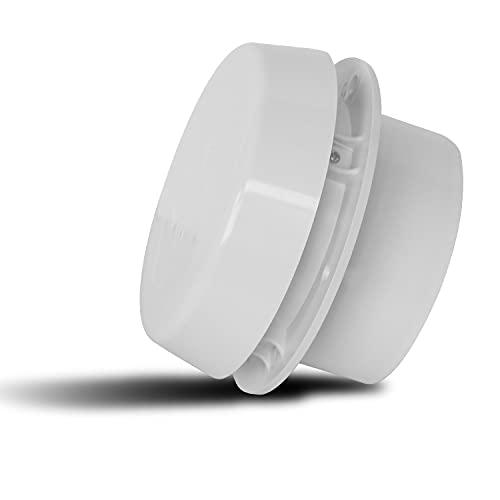 SOWBAY Rejilla de ventilación de Aire de la azotea de RV sin Ventilador de Viaje Ventilación de Aire Blanco (Color : White)