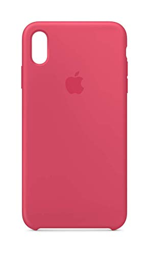 Apple MUJP2ZM/A Custodia in Silicone per iPhone XS Max, Ibisco