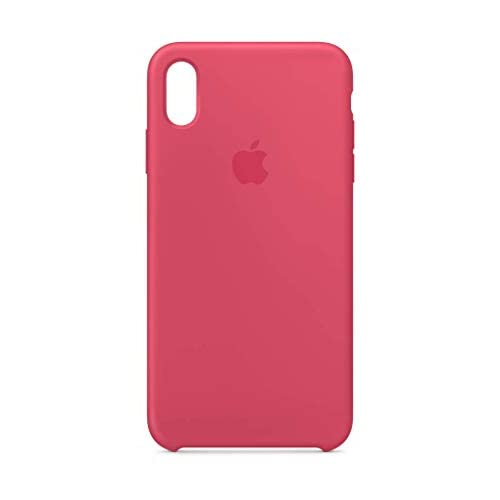 Apple MUJP2ZM/A Custodia in Silicone per iPhone XS Max, Ibisco