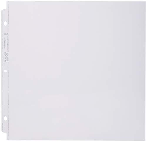 We R Memory Keepers Page Protectors Ring, 12 x 12 Inches - Pack of 10