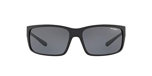 Arnette Fastball 2.0, Gafas de Sol para Hombre, Negro (Matte Black/Polar Grey), 62