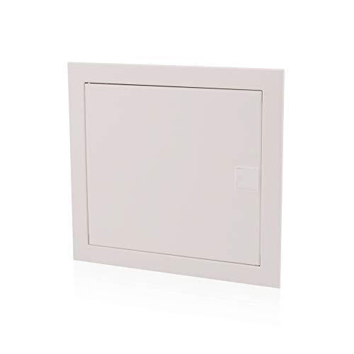 Unterputz Sicherungskasten 1-reihig 12 Module UP-Verteilerkasten IP40 Verteiler Gehäuse Metalltür für die Trockenraum Installation im Eigenheim