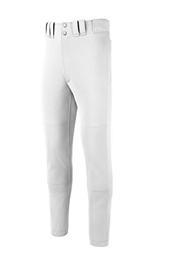 Mizuno Juventud Seleccione Pantalones, Niños, Color Blanco, tamaño Small