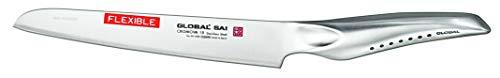 """Global SAI-M05 Flexible Utility Knife, 6-1/2"""", Silver"""