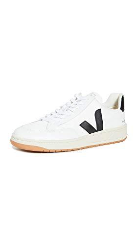 VEJA V-12 Sneakers heren Wit/Zwart Lage sneakers