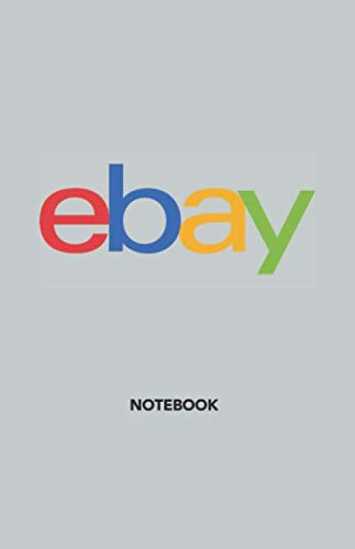 "EBAY Notebook Journal, Hard Cover, Pocket (5.5"" x 8.5\""), Dotted Numbered Pages, Designed in Toronto: 5.5x8.5 inch 14x21.6 cm 192 Pages"